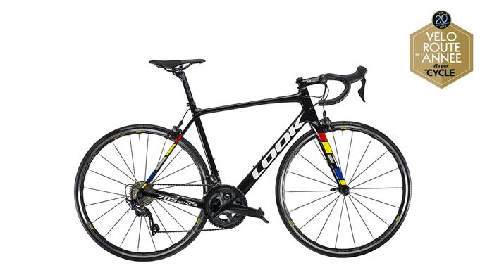 Vélo LOOK 785 Huez RS Proteam Black MAVIC Ultegra