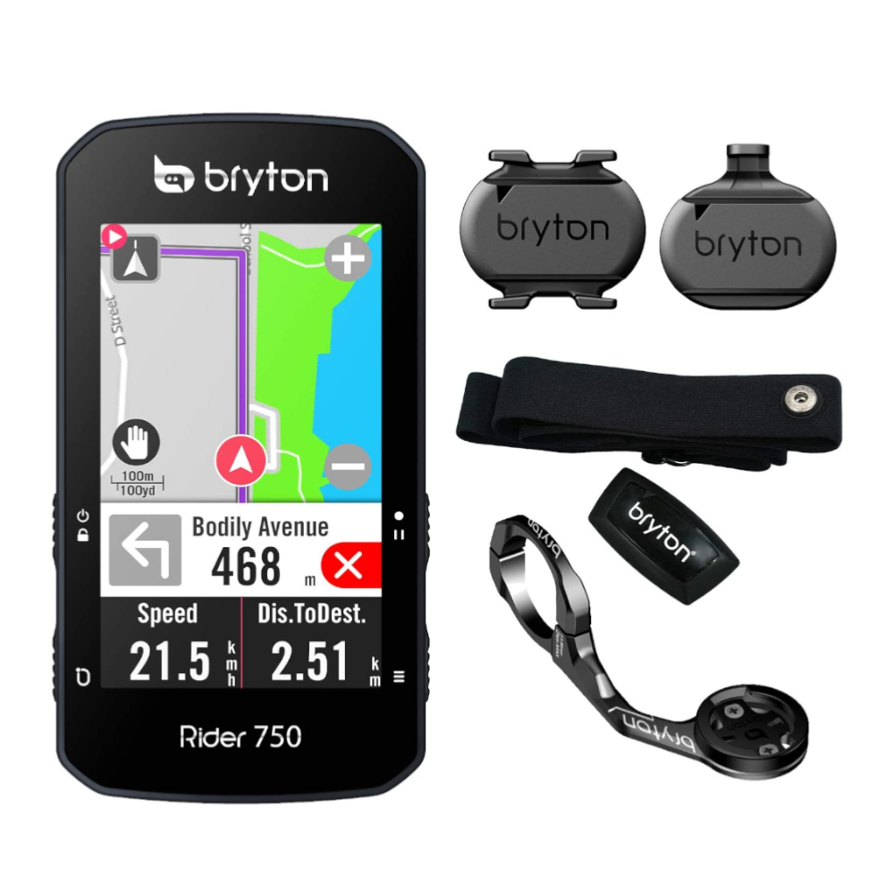 Compteur GPS Bryton Rider 750 T