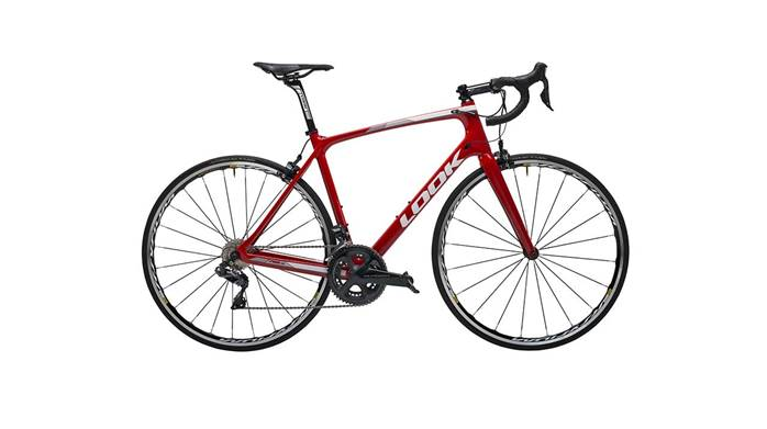 Vélo LOOK 765 Optimum RS Red Glossy Ultegra Di2