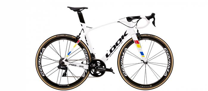 Vélo Route LOOK 795 Light RS Proteam Blanc Glossy