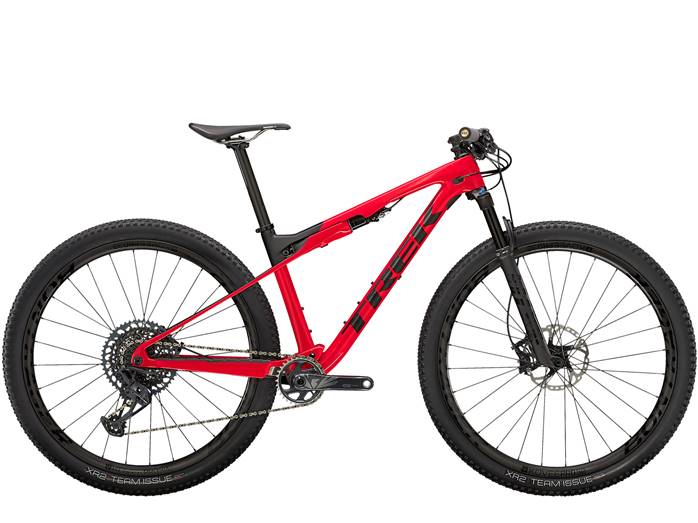 VTT Carbone TREK Supercaliber 9.8 GX Rouge Noir