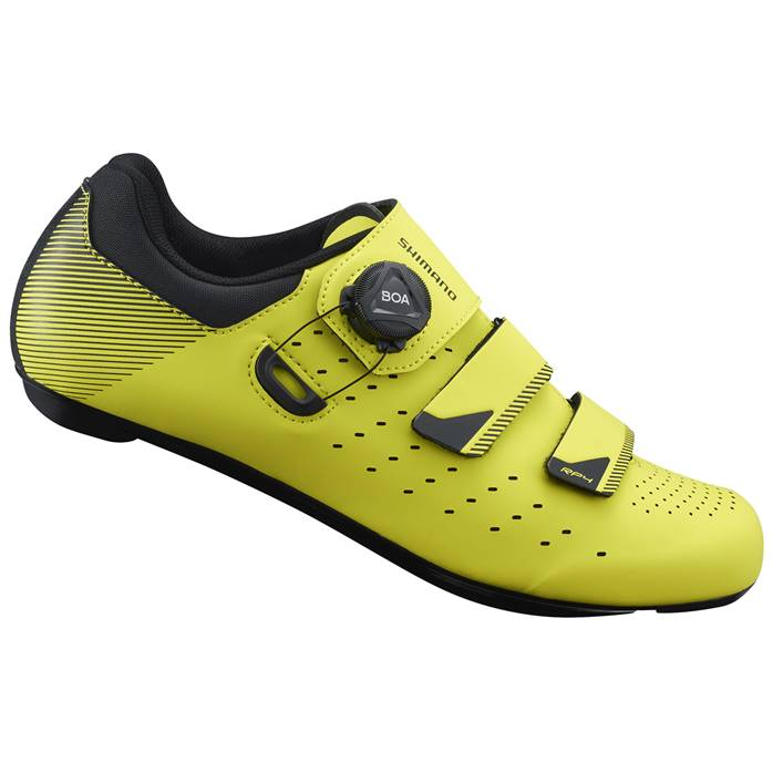Chaussures Route SHIMANO RP400 Jaune Fluo