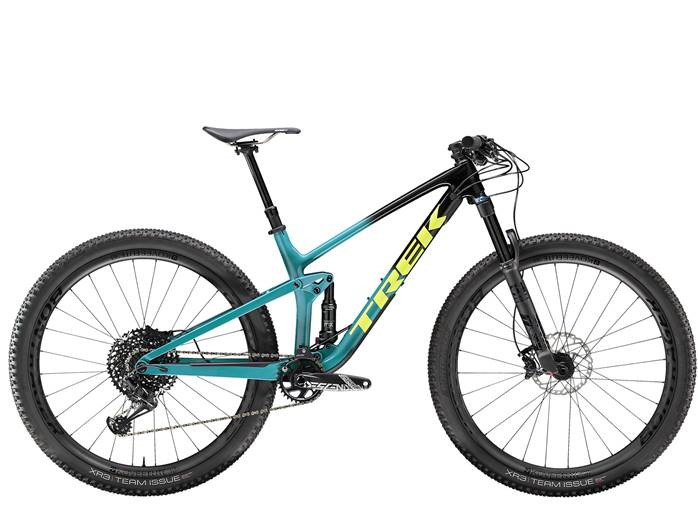 VTT Tout-Suspendu TREK Top Fuel 9.8 Noir Teal