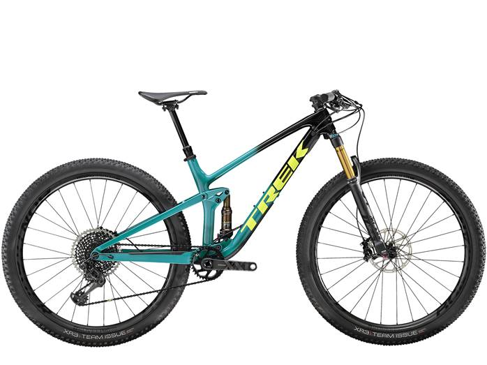 VTT Tout-Suspendu TREK Top Fuel 9.9 Noir Teal