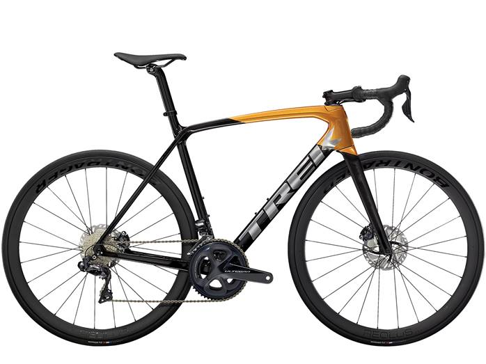 Vélo Route TREK Emonda SL 7 Disc Noir Orange
