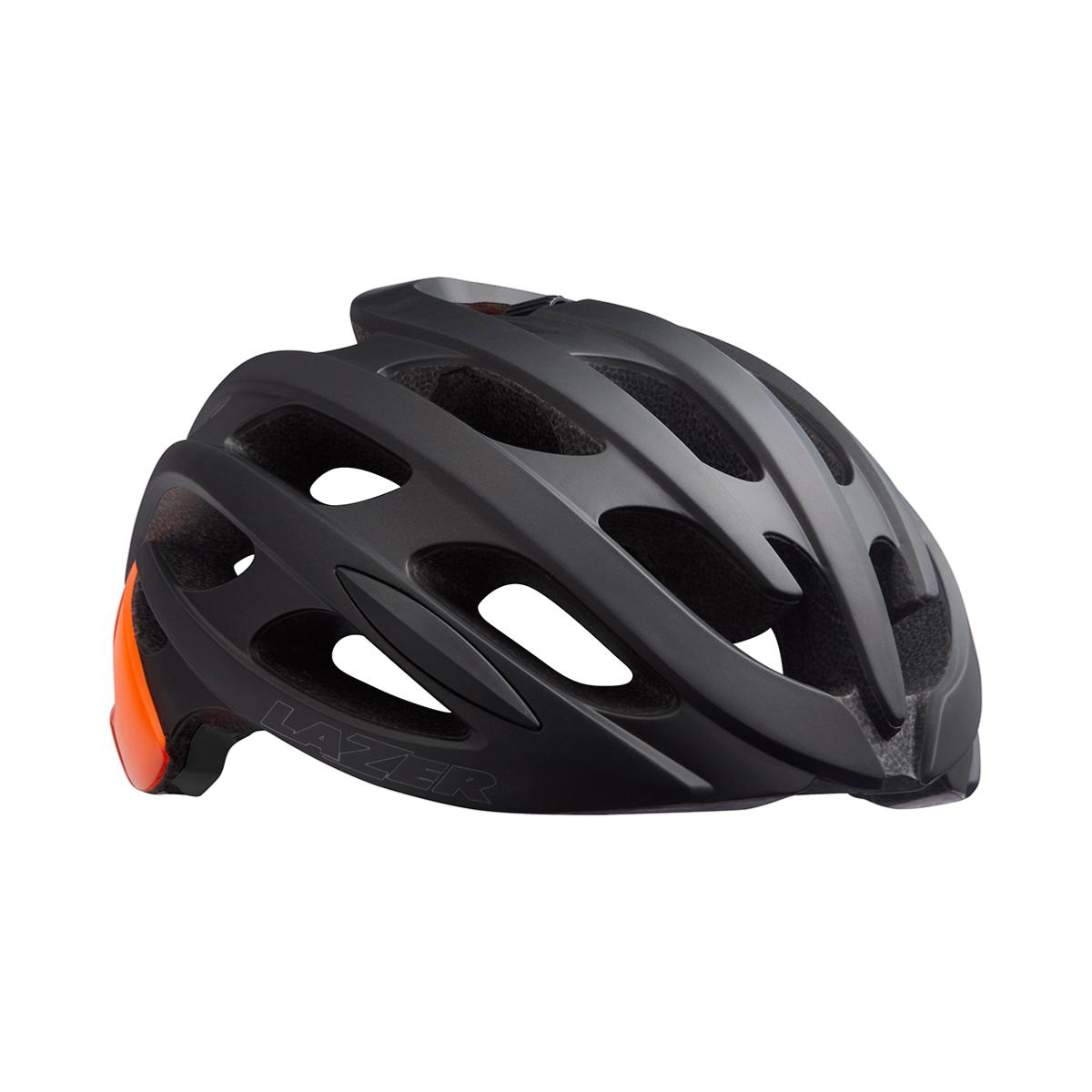 Casque LAZER Blade+ Noir Mat Orange