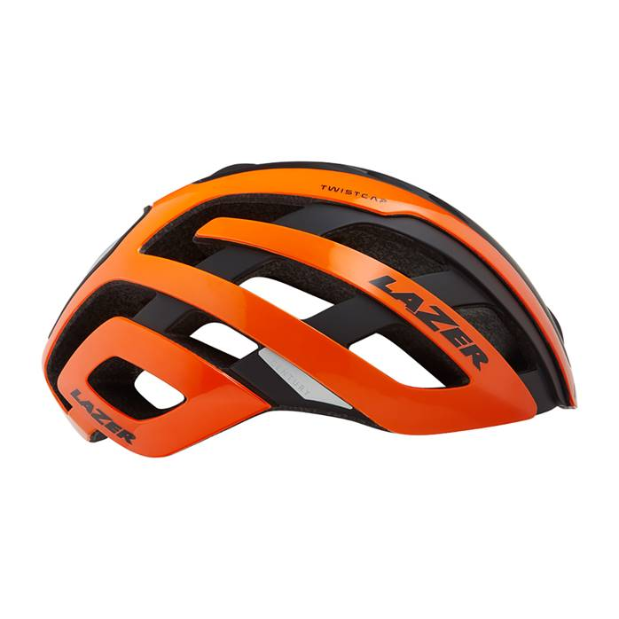 Casque LAZER Century Orange Noir