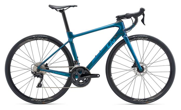 Vélo femme LIV Langma Advanced 2 Disc HRD
