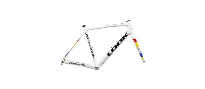 Kit cadre route LOOK 785 Huez RS Disc Proteam Blanc