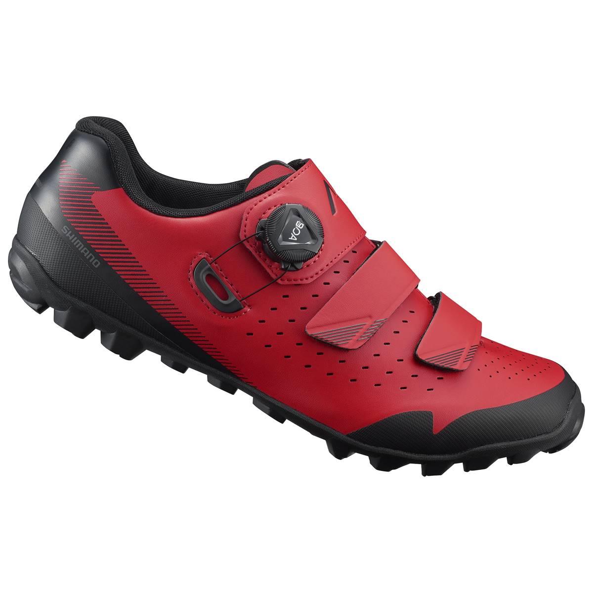 code promo profiter du meilleur prix chaussures décontractées Chaussures VTT SHIMANO ME400 Rouge