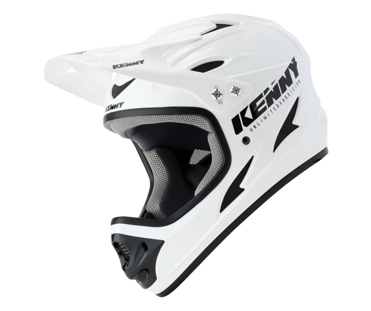 Casque intégral KENNY Down Hill Solid Blanc