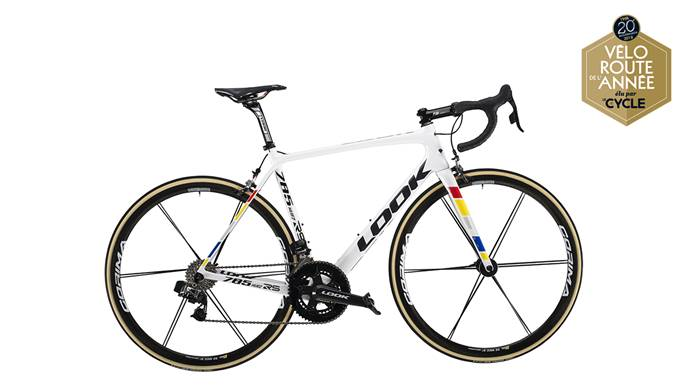 Vélo LOOK 785 Huez RS Proteam White Glossy e-Tap