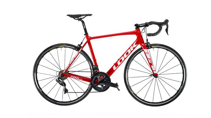 Vélo LOOK 785 Huez Red Glossy Ultegra Di2