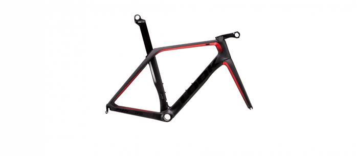 Kit cadre LOOK 795 Blade RS Disc Noir Rouge