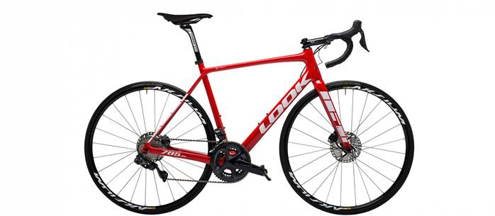 Vélo Route LOOK 785 Huez Disc Rouge Ultegra Di2