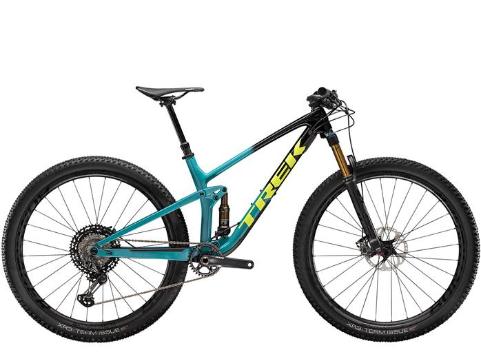 VTT Tout-Suspendu TREK Top Fuel 9.9 XTR Noir Teal
