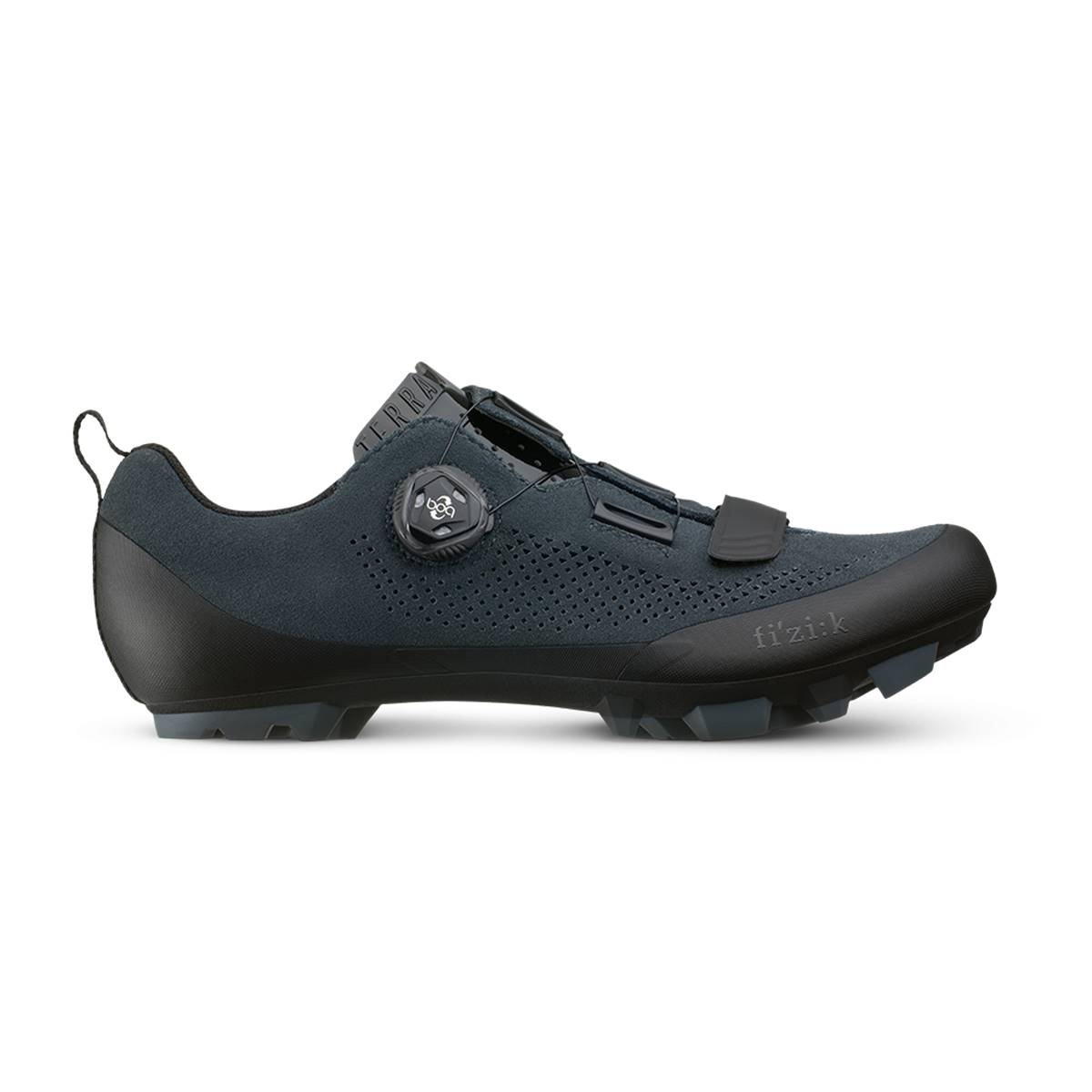 fb0903e333fb FIZIK Chaussures VTT FIZIK Terra X5 Suede Anthracite (2019) | Intercycle