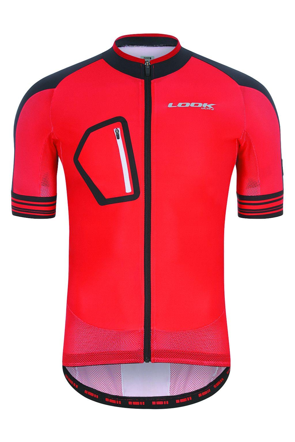 Maillot manches courtes LOOK Ultra Rouge