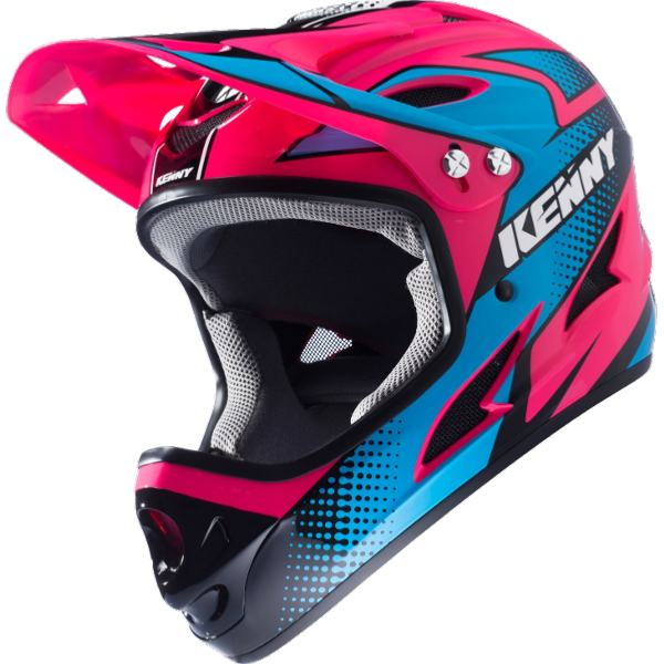 Casque intégral KENNY Down Hill Rose Fluo