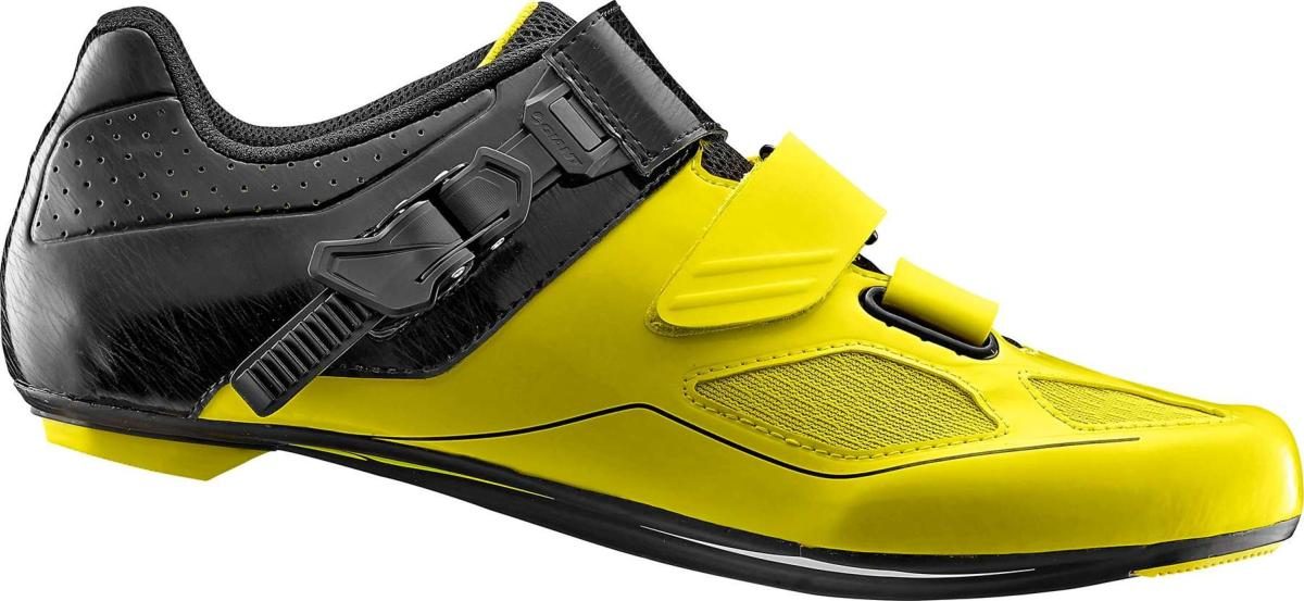 Chaussures Route GIANT Phase Jaune Noir
