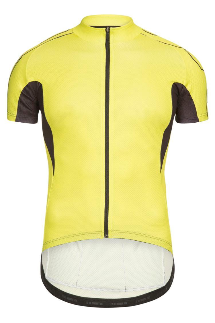 Maillot manches courtes LOOK Pulse Jaune