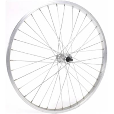 "ROUE AV 24"" 36T JTE SIMPLE FOND ECROU"