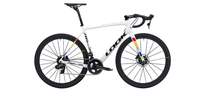 Vélo Route LOOK 785 Huez RS Disc Proteam Blanc SRAM Force eTap