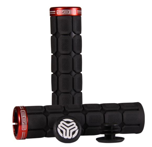 BIG ONE GRIPS BLACK/RED