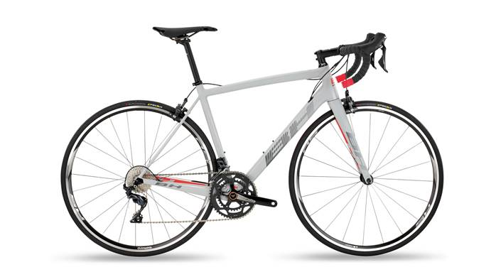 Vélo BH Ultralight 8.0 Gris Rouge