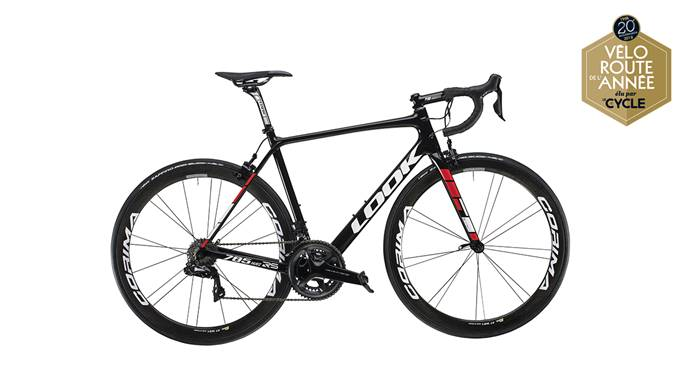 Vélo LOOK 785 Huez RS Black Red Glossy Dura-Ace Di2