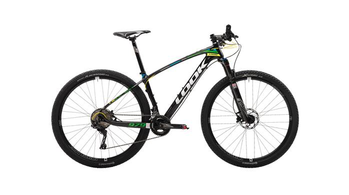 VTT LOOK 979 Black Fluo Green Yellow Glossy XT