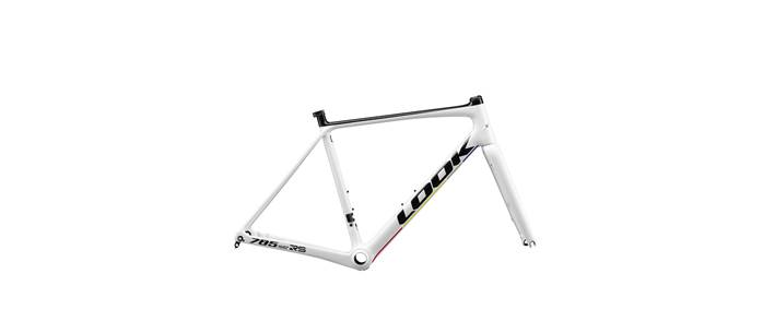 Kit cadre carbone LOOK 785 Huez RS Disc Proteam Blanc