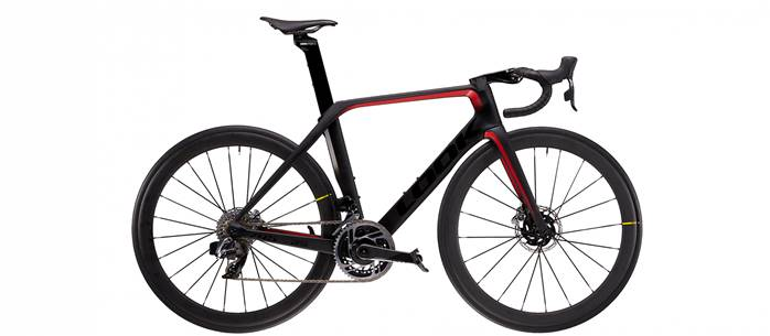 Vélo Route LOOK 795 Blade RS Disc Noir Rouge SRAM RED ETAP AXS