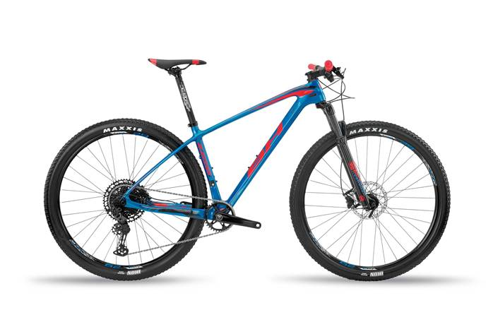 VTT Carbone BH Ultimate RC 6.5 Bleu Rouge
