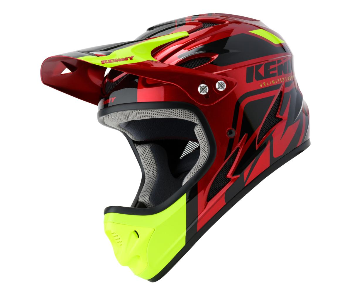 Casque intégral Kenny Down Hill Graphic CANDY RED