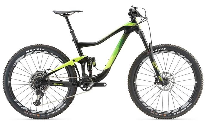VTT Tout-Suspendu Carbone GIANT Trance Advanced 0