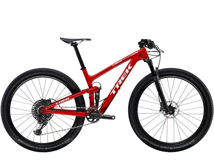 VTT TREK Top Fuel 9.8 SL Rouge Blanc