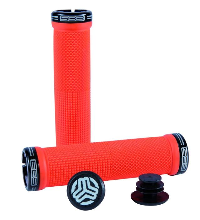 KHEOPS MINI GRIPS BLACK/RED