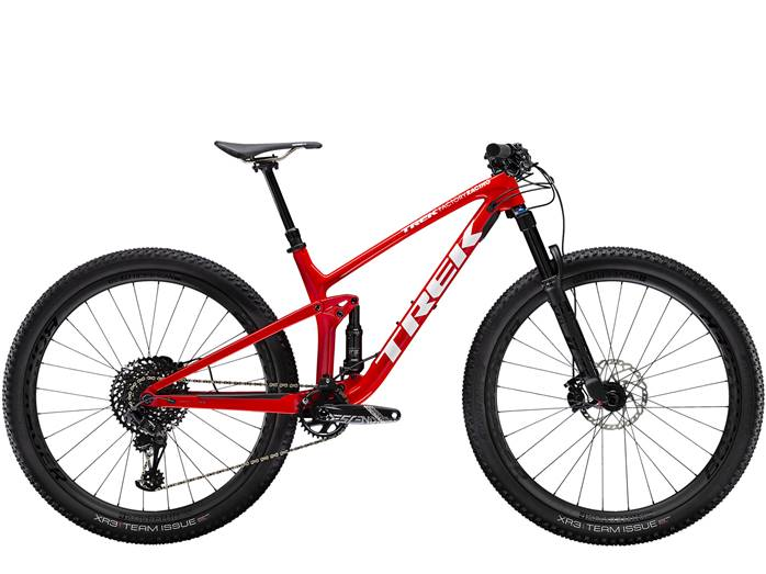 VTT Tout-Suspendu TREK Top Fuel 9.8 Rouge Blanc