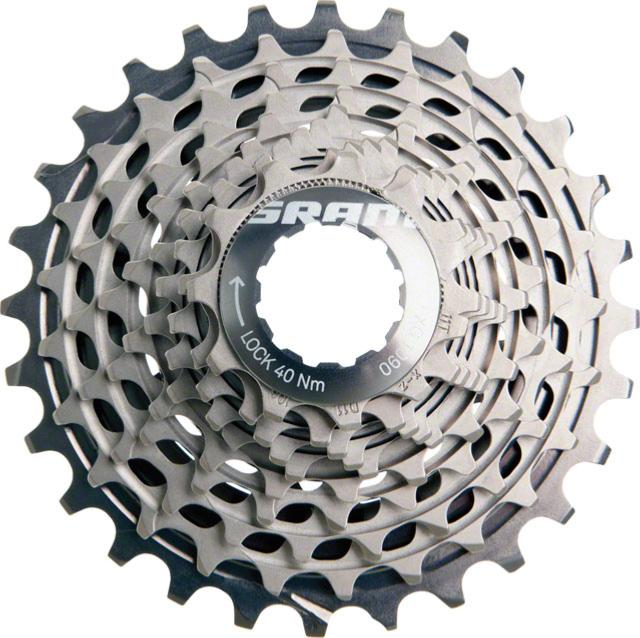 Cassette SRAM Red XG-1090 Power Dome 10v