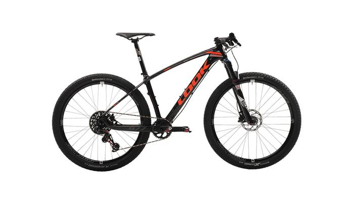 VTT LOOK 977 Black Fluo Red Glossy X01 Eagle