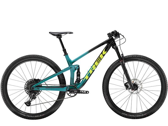 VTT Tout-Suspendu TREK Top Fuel 9.7 Noir Teal