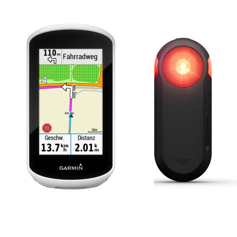 Compteur GPS GARMIN Edge Explore + Radar Varia RTL510