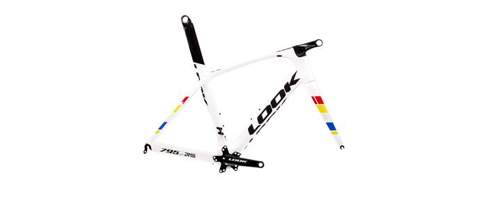 Kit cadre LOOK 795 Light RS Proteam Blanc