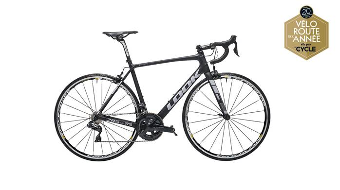 Vélo LOOK 785 Huez RS Black Grey Mat Ultegra Di2