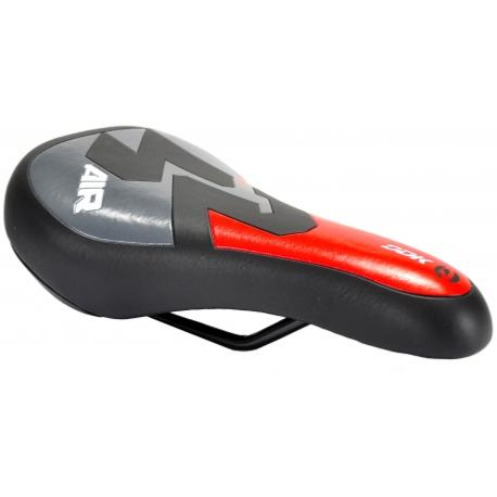 "SELLE JUNIOR ""SPORT 2"" NOIR/GRIS/ROUGE"