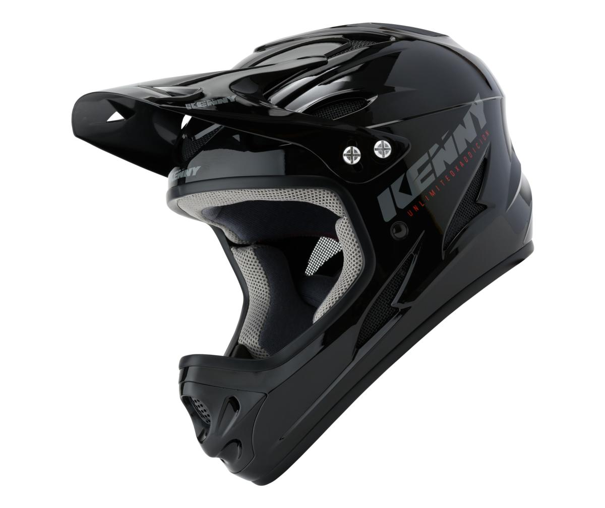 Casque intégral Kenny Down Hill Solid Noir