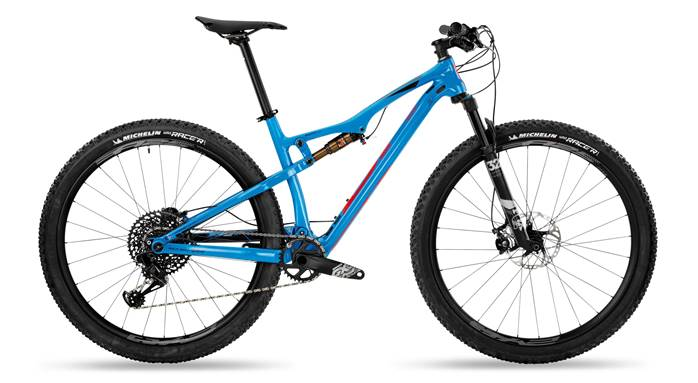 VTT BH Lynx Race Carbon RC 7.9 Bleu Rouge