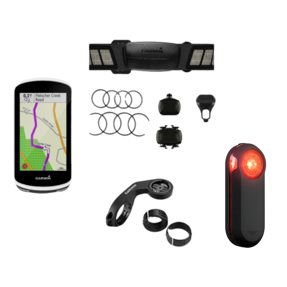 Compteur GPS GARMIN Edge 1030 Bundle + Radar GARMIN Varia RTL510