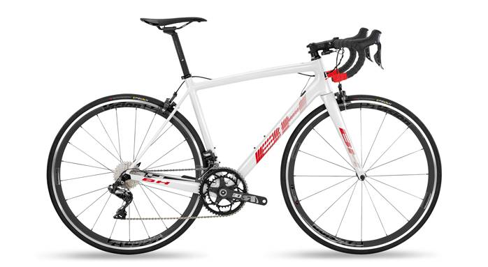 Vélo BH Ultralight 8.5 Blanc Rouge